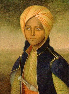 Machbuba war eine minderjährige Sklavin, die Fürst Hermann von Pückler-Muskau 1837 in Kairo kaufte; Quelle: wikipedia