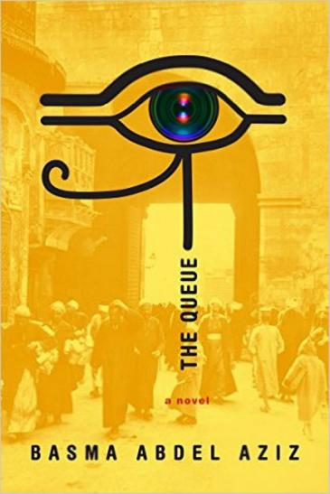 """Cover of Basma Abdel Aziz's """"The Queue"""" translated by Elisabeth Jaquette (published by Melville House)"""