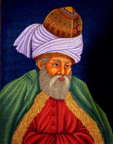 Porträtbild Jalāl ad-Dīn Rūmīs; Quelle: privat