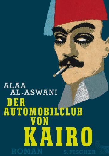 """Buchcover """"Der Automobilclub von Kairo"""" im Fischer-Verlag"""