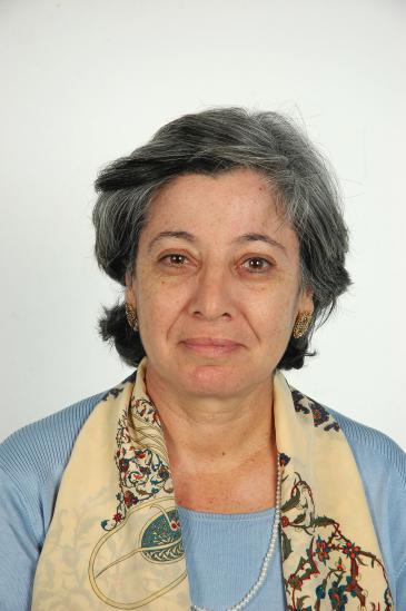 Die tunesische Historikerin Kmar Bendana; Foto: Sarah Mersch