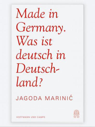 """Buchcover """"Made in Germany - was ist deutsch in Deutschland?"""" (Quelle: Hoffmann und Campe)"""