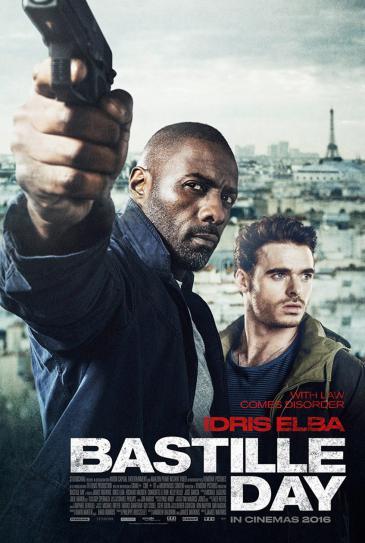 """Filmplakat """"Bastille Day""""; Quelle: StudioCanal"""