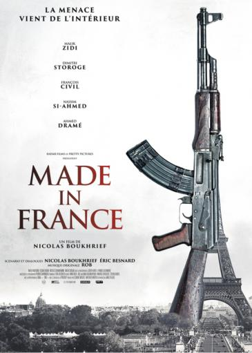 "Kinoplakat ""Made in France""; Quelle: Pretty Pictures/Radar Films"