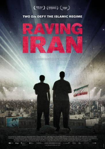 """Kinoplakat """"Raving Iran"""""""