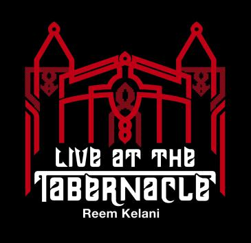 "CD-Cover ""Reem Kelani: Live at the Tabernacle"", Fuse Records"