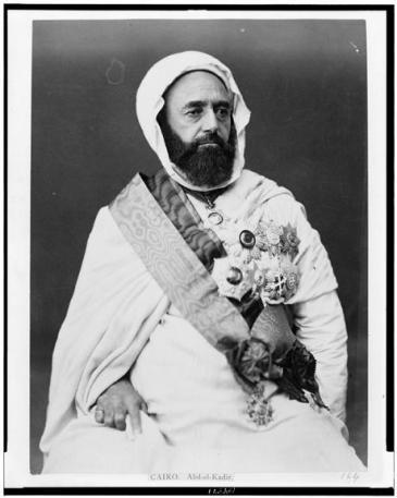 Emir Abdelkader; Foto: Library of Congress, Public Domain
