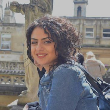 Inas studiert öffentliche Verwaltung in Berlin; Foto: privat