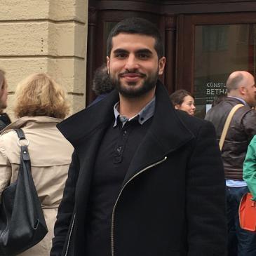 Yavuz studies industrial engineering in Bochum (photo: private)
