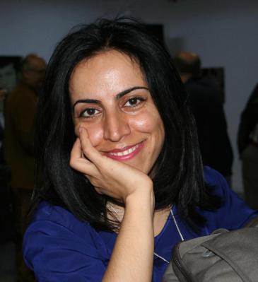 Die kurdische Journalistin Hatice Kamer; Foto: Sonja Galler