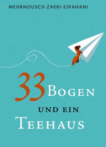 """Buchcover """"33 Bogen und ein Teehaus"""" im Peter Hammer Verlag"""