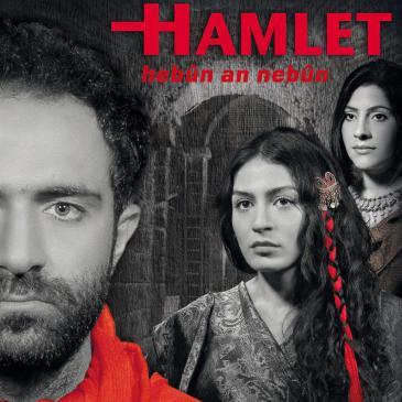 """Aufführungsplakat """"Hamlet"""" des Stadttheaters Diyarbakır"""