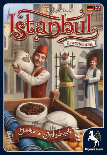"""Ansicht Brettspiel """"Mokka und Bakschisch im Verlag Pegasus Spiele"""