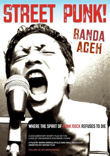 "Filmposter ""Street Punk! Banda Aceh""; Quelle: mariabakkalapulo.com"