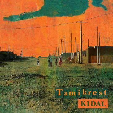 "CD-Cover ""Kidal"" der Band Tamikrest; Label: Glitterbeat Records"