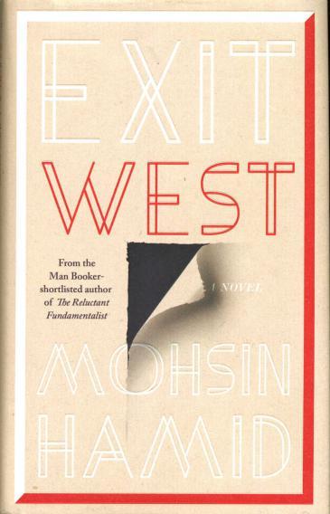 "Buchcover Mohsin Hamid: ""Exit West""; Verlag Riverhead Books"
