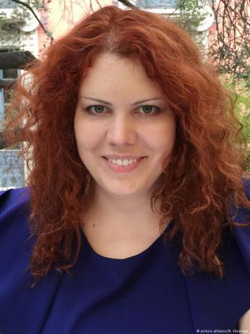 Salafismusforscherin Nina Käsehage; Foto: picture-alliance/N. Käsehage