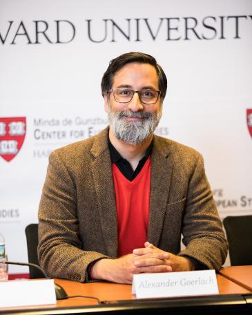 Alexander Görlach; Foto: David Elmes/Harvard University