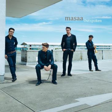"""CD-Cover Masaa """"Outspoken""""; Quelle: Traumton"""