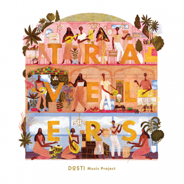 """CD-Cover """"The Dosti Music Project"""": Travelers; Quelle: Found Sound Nation"""