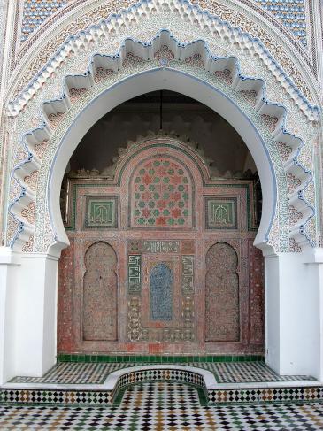 Eingangsportal der Moschee der Universität al-Qarawīyīn im marokkanischen Fès; Foto: Anderson Sady/Wikipedia