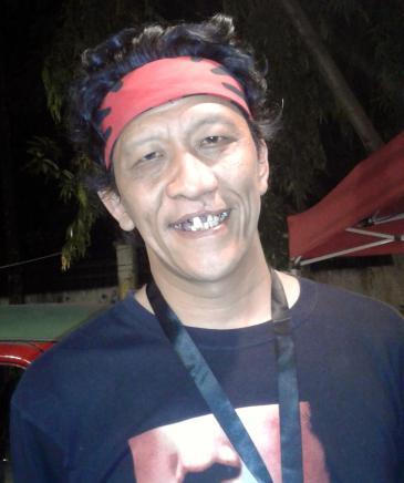 """Bambang Witjaksono, Kurator der diesjährigen """"ArtJog""""; Foto: Zora Rahman"""