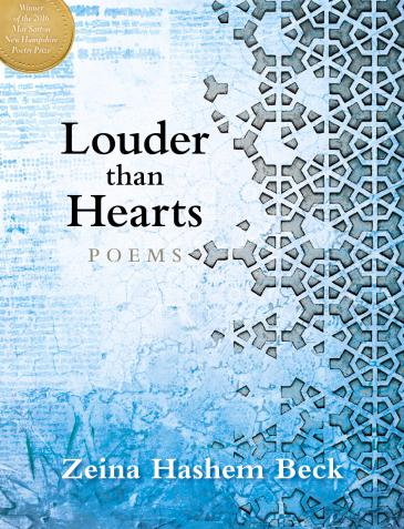 "Cover of Zeina Hashem Beck's ""Louder than Hearts"" (published by Bauhan Publishing)"