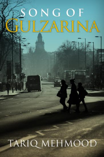 "Cover of Tariq Mehmood's ""Gulzarina"" (published by Daraja Press)"