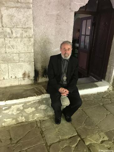 Pater Nikolla aus Elbasan; Foto: DW