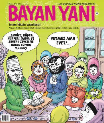 Bayan Yanı-Ausgabe; Quelle: Bayan Yanı