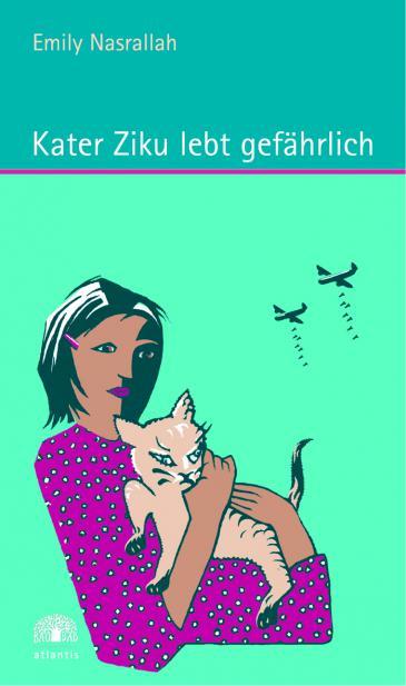 Romancover Kater Ziku lebt gefährlich. Foto: Atlantis Verlag