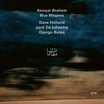 """CD-Cover Anouar Brahem: """"Blue Maqams""""; Label:  ECM Records"""