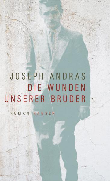 "Buchcover Joseph Andras: ""Die Wunden unserer Brüder"" im Hanser-Verlag"