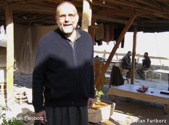 Der italienische Jesuit Paolo dall Oglio in Mar Musa; Foto: Arian Fariborz