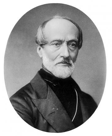 Der italienische Freiheitskämpfer und Vordenker Mazzini; Foto: wikipedia