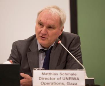 Matthias Schmale; Foto: UNRWA
