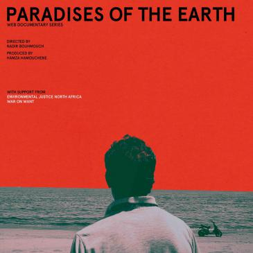 "Filmplakat Dokumentarfilm ""Paradises of the Earth"""