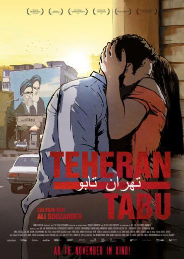 """Filmplakat """"Teheran Tabu"""""""