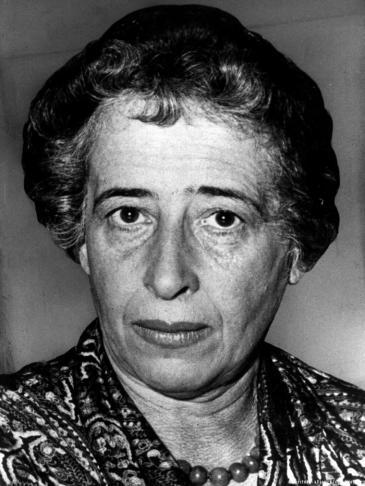 Hannah Arendt im Jahr 1958; Foto: dpa/picture-alliance