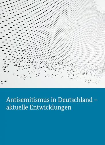 Buchcover Antisemitismusbericht des Deutschen Bundestages
