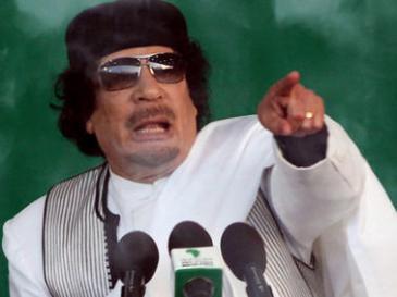 Libyens Ex-Diktator Muammar al-Gaddafi; Foto: dpa