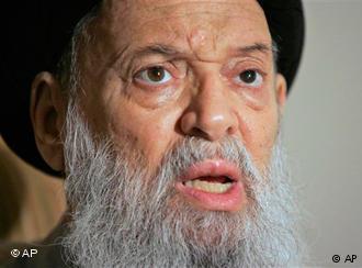 Muhammad Hussein Fadlallah; Foto: AP