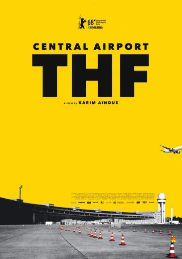 """Kinoplakat """"Zentralflughafen THF"""" von Karim Aïnouz"""