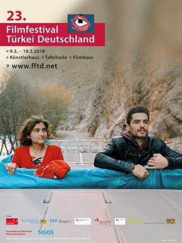 Poster des Filmfestivals Türkei Deutschland; Quelle: fftd.net