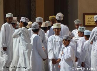 Koranschüler in der omanischen Hauptstadt Maskat; Foto: DW