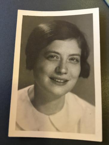 Die Jüdin Hedwig Klein; Foto: privat