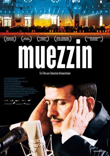 """Kinoplakat der Doku """"Muezzin"""" des österreichischen Regisseurs Sebastian Brameshuber"""