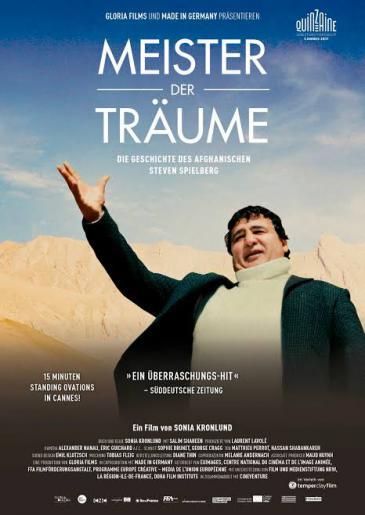 """Kinoplakat """"Meister der Träume"""" von Salim Shaheen"""