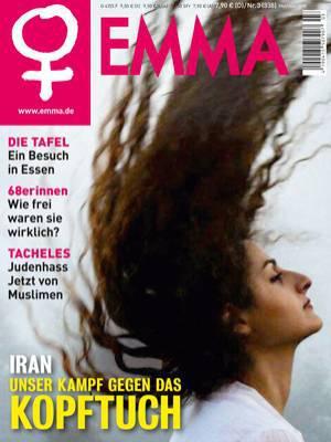 Titelbild der Mai/Juni-Ausgabe der Zeitschrift EMMA