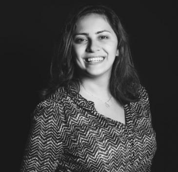 Die jordanische Journalistin Lina Shannak